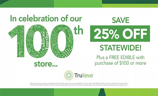 100th Store Sale!
