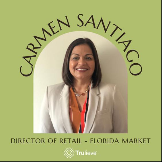 Carmen Santiago Director of Retail for Trulieve