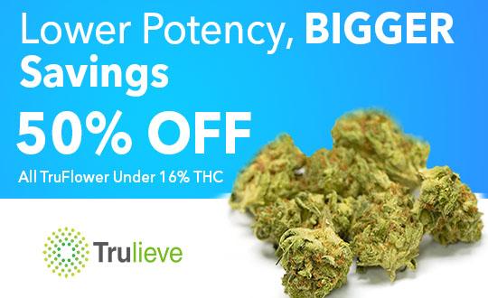 50% off TruFlower