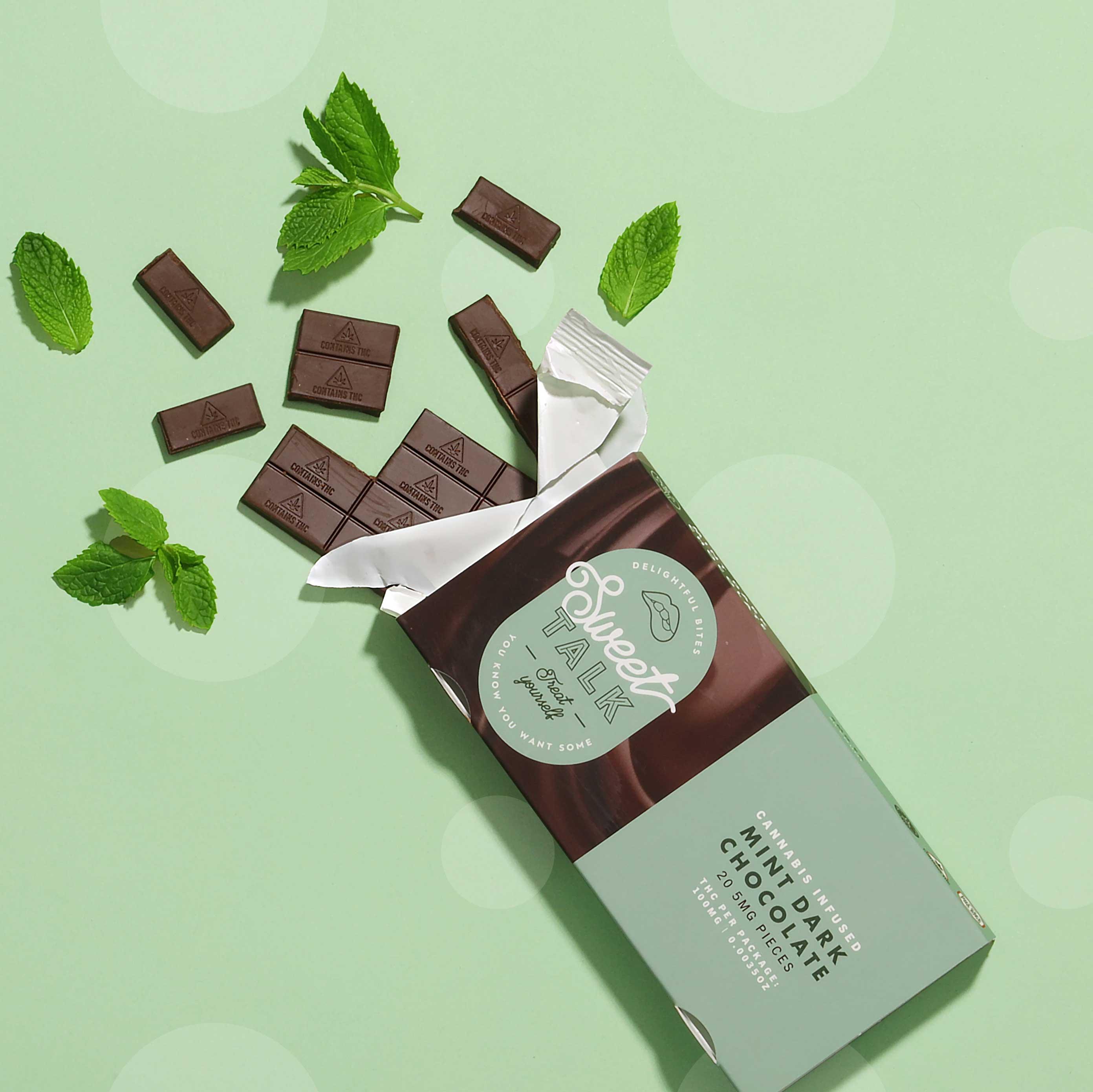 mint chocolate bar