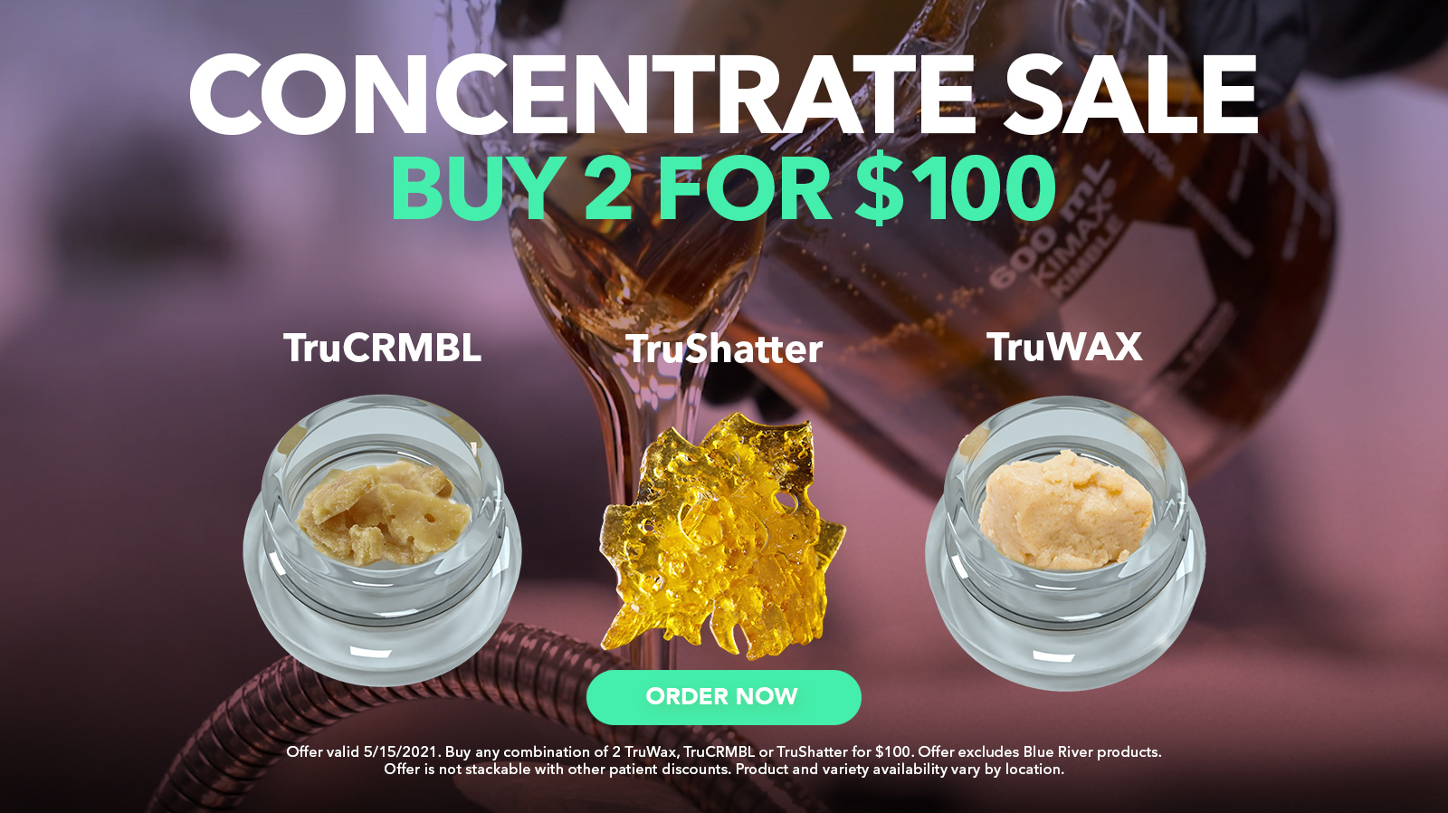 5/15 Concentrate Sale