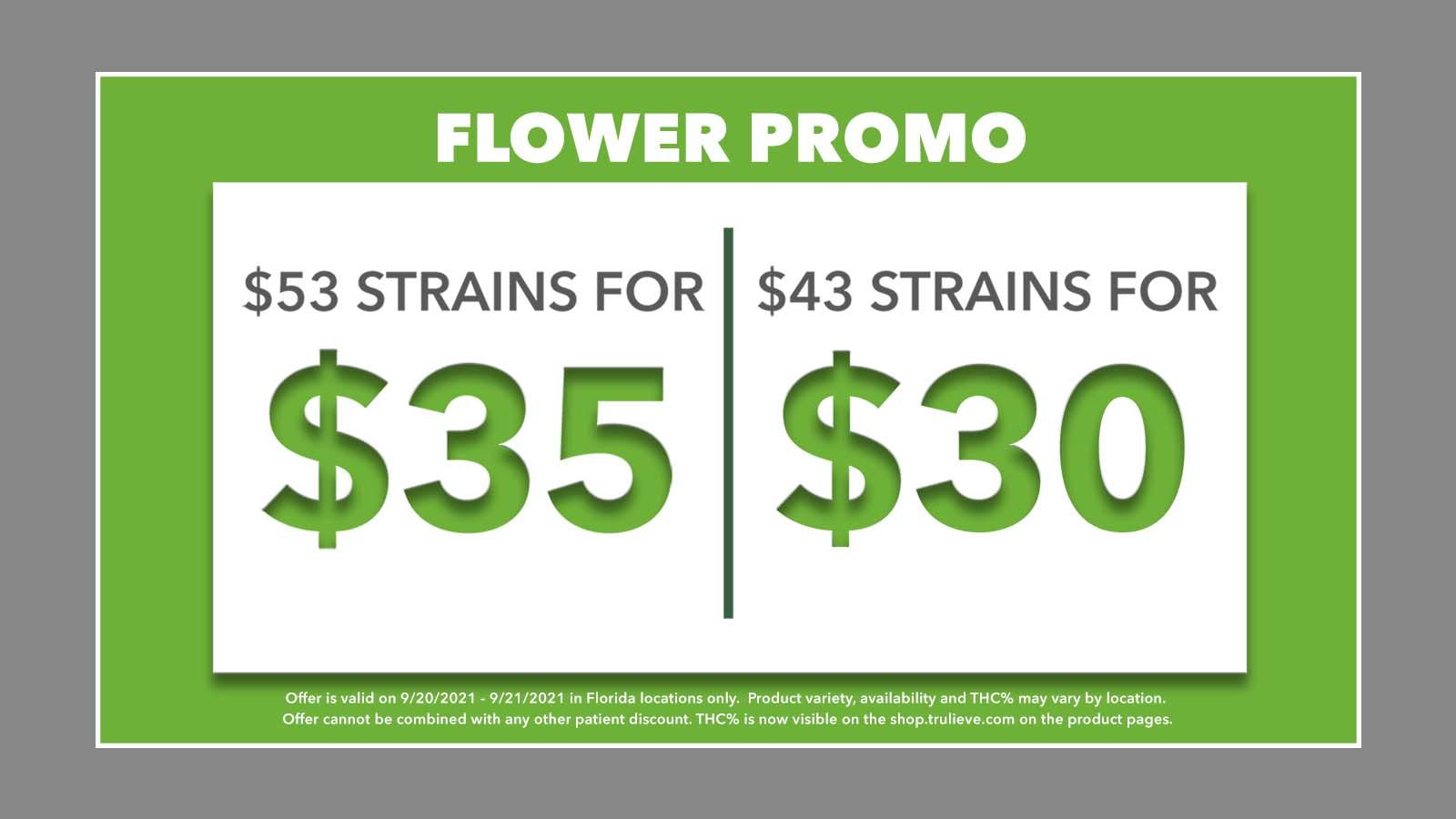 09.20 - 09.21 Flower Promo