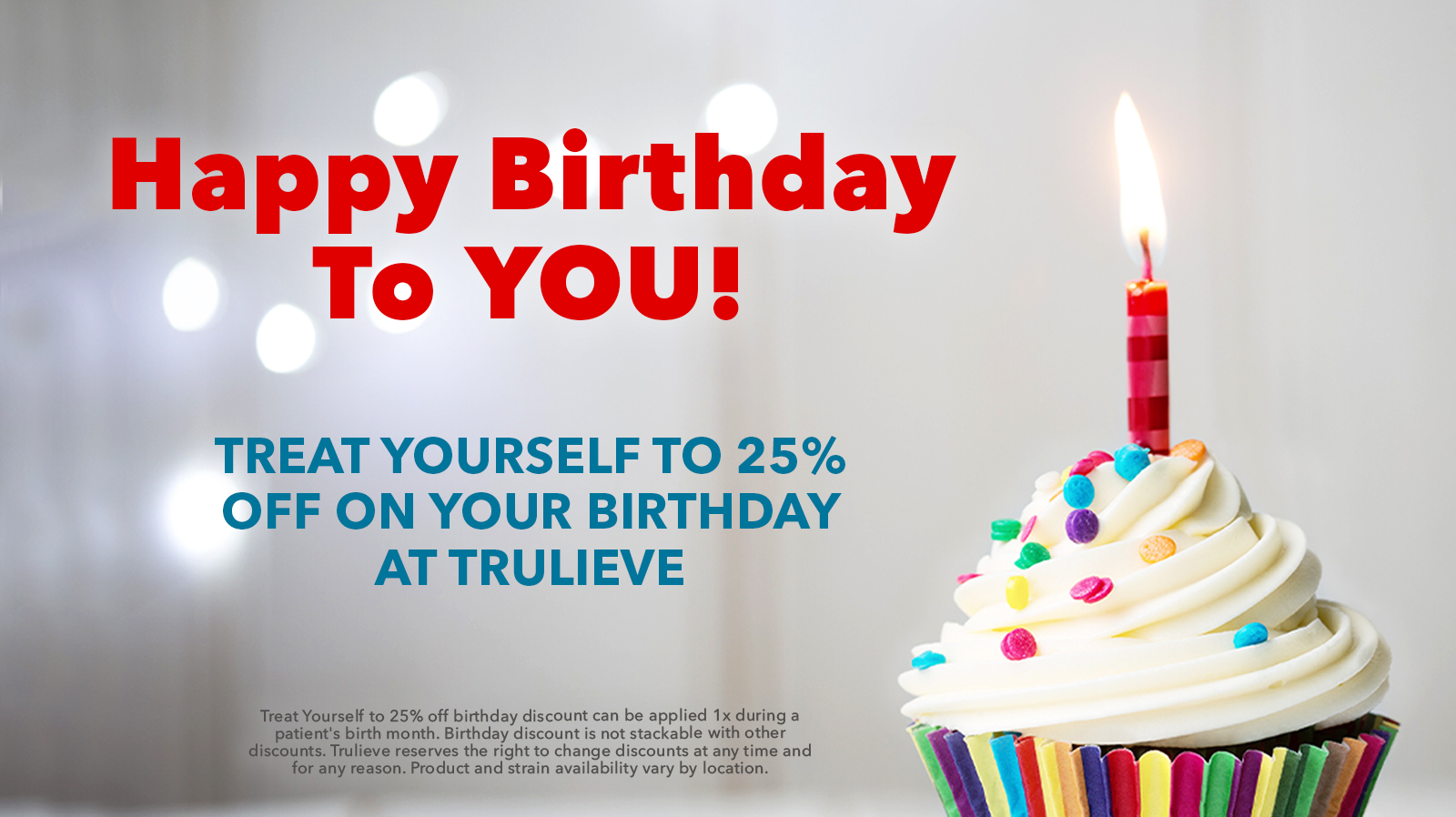 Birthday discount