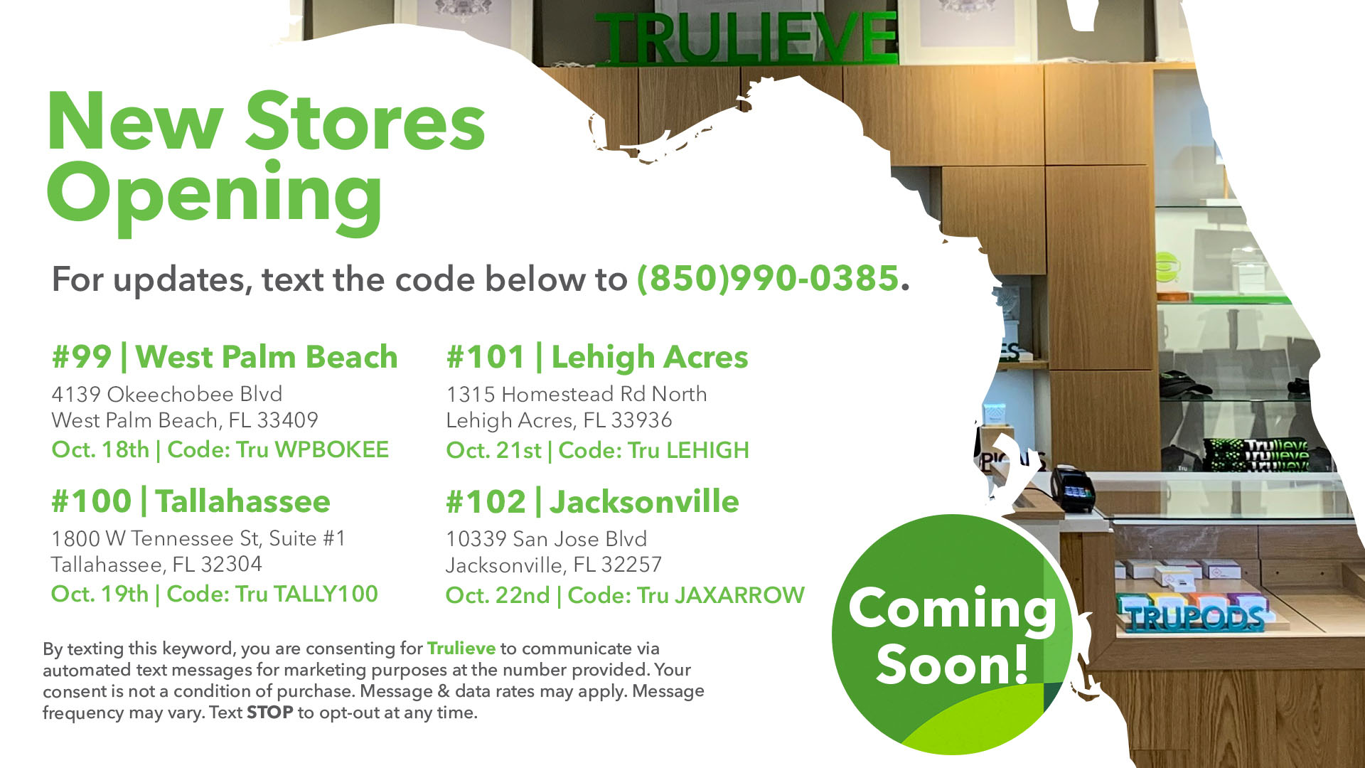 New Stores